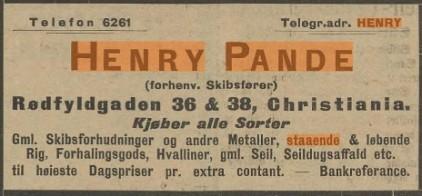 Henry Pande